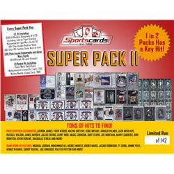 "Sportscards.com ""SUPER PACK II"" - Premium Sports Card Mystery Pack!"