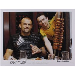 """Chuck Liddell Signed """"Guess Who's Coming to Dinner?"""" 17x22 UFC Fine Art Giclee by Iconic Sports Phot"""