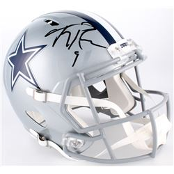 Tony Romo Signed Cowboys Full-Size Speed Helmet (JSA COA)