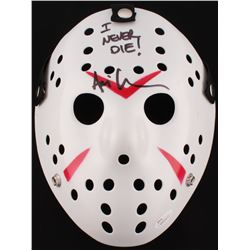 "Ari Lehman Signed Jason ""Friday the 13th"" Hockey Mask Inscribed ""I Never Die!"" (JSA COA)"