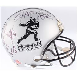 Heisman Trophy Full-Size Authentic On-Field Helmet Signed  Inscribed by (21) winners with Bo Jackson