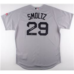 John Smoltz Signed Red Sox Jersey (Tri-Star Hologram)