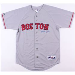 Johnny Pesky Signed Red Sox Jersey (JSA COA)