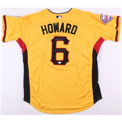 "Ryan Howard Signed National League All Star Game Jersey Inscribed ""A.S. Game"" (JSA COA)"