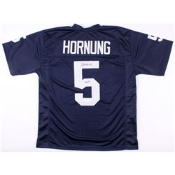 "Paul Hornung Signed Notre Dame Fighting Irish Jersey Inscribed ""56 H."" (JSA Hologram)"