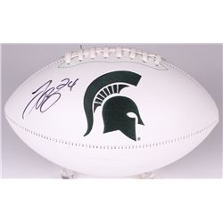 Le'Veon Bell Signed Michigan State Spartans Logo Football (JSA COA)