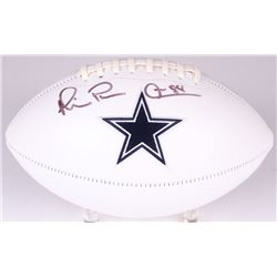 "Michael Irvin Signed Cowboys Logo Football Inscribed ""Playmaker"" (Radtke COA)"