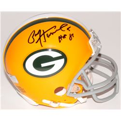 "Paul Hornung Signed Packers Mini-Helmet Inscribed ""HOF 86"" (Radtke COA)"