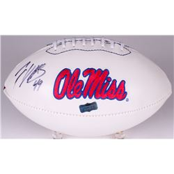 Patrick Willis Signed Ole Miss Logo Football (Radtke COA)