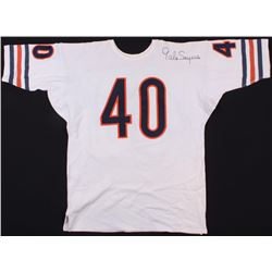 Gale Sayers Signed Bears Throwback Jersey (JSA COA)