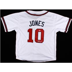 Chipper Jones Signed Braves Jersey (PSA COA)