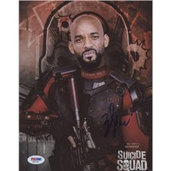 "Will Smith Signed ""Suicide Squad""  8x10 Photo (PSA COA)"