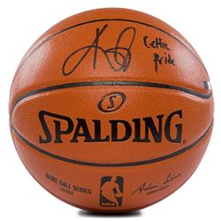 "Kyrie Irving Signed Limited Edition Basketball Inscribed ""Celtic Pride"" (Panini COA)"