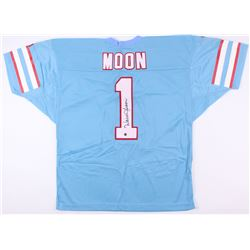 Warren Moon Signed Oilers Jersey (JSA COA  Moon Hologram)