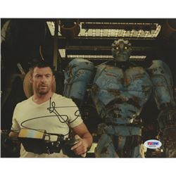 "Hugh Jackman Signed ""Real Steel"" 8x10 Photo (PSA COA)"