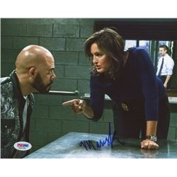 "Mariska Hargitay Signed ""Law  Order: Special Victims Unit"" 8x10 Photo (PSA COA)"