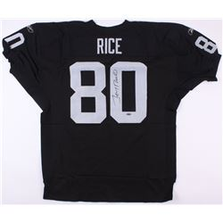 Jerry Rice Signed Raiders Jersey (TriStar)