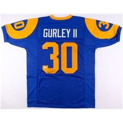 Todd Gurley Signed Rams Jersey (JSA COA)