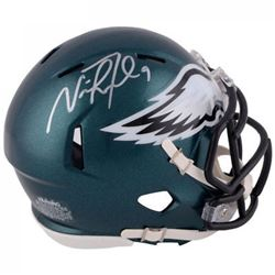 Nick Foles Signed Eagles Speed Mini Helmet (Fanatics)