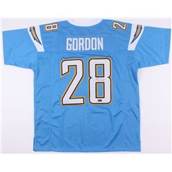 Melvin Gordon Signed Chargers Jersey (Radkte COA)