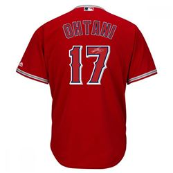 Shohei Ohtani Signed Angels Authentic Majestic Jersey (Steiner  MLB Hologram)