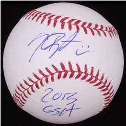 "Kris Bryant Signed OML Baseball Inscribed ""2013 GSA"" (JSA COA)"