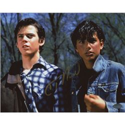 "C. Thomas Howell Signed ""The Outsiders"" 8x10 Photo (Schwartz COA)"
