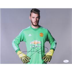 David de Gea Signed 11x14 Photo (JSA COA)