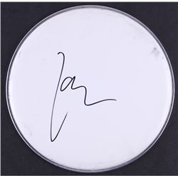 Lars Ulrich of Metallica Signed Drum Head (JSA COA)