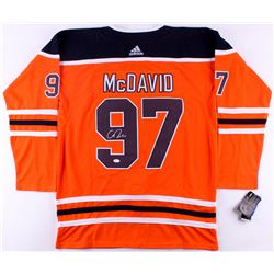 Connor McDavid Signed Oilers Captain Jersey (JSA Hologram)