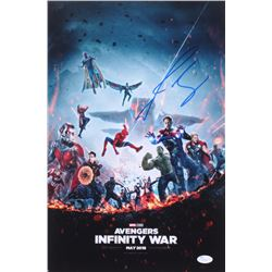 "Josh Brolin Signed ""Avengers: Infinity Wars"" 12x18 Photo (JSA COA)"