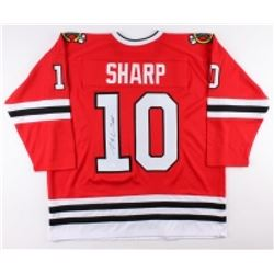 Patrick Sharp Signed Blackhawks Jersey (JSA COA)