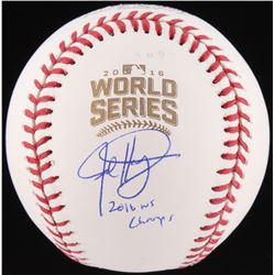 "Jed Hoyer Signed Official 2016 World Series Baseball Inscribed ""2016 WS Champs"" (Schwartz COA)"