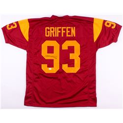 "Everson Griffen Signed USC Trojans Jersey Inscribed ""BG'"" (TSE COA)"