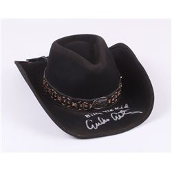 "Emilio Estevez Signed Bullhide Billy The Kid Gunfighters Collection Cowboy Hat Inscribed ""Billy The"