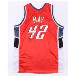 Sean May Signed Bobcats Jersey (UD COA)