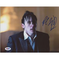 "Robin Lord Taylor Signed ""Gotham"" 8x10 Photo (PSA COA)"