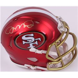 Joe Montana Signed 49ers Mini Blaze Speed Helmet (Radtke COA)