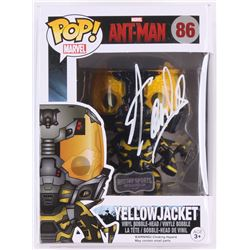 "Stan Lee Signed Yellow Jacket ""Ant-Man"" Marvel POP! Vinyl Figure (Lee Hologram  Radtke Hologram)"