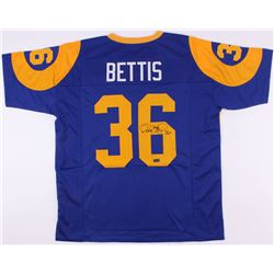 Jerome Bettis Signed Rams Throwback Jersey (Radtke COA)