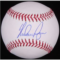 Nolan Ryan Signed OML Baseball (Ryan Hologram  Radtke Hologram)