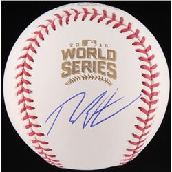 Theo Epstein Signed 2016 World Series Baseball (Schwartz COA)