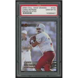 2000 Collector's Edge EG #102 Chris Redman RC (PSA 10)