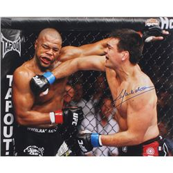 Lyoto Machida Signed UFC 16x20 Photo (Sports Integrity COA)