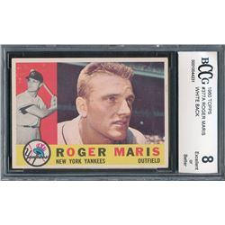 1960 Topps #377A Roger Maris WB (BCCG 8)