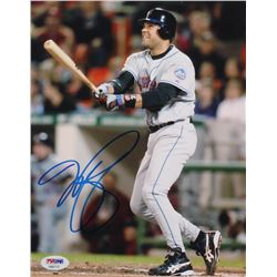 Mike Piazza Signed Mets 8x10 Photo (PSA COA)
