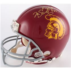 "Mark Sanchez Signed USC Trojans Full-Size Authentic On-Field Helmet Inscribed ""Fight On!"" (JSA COA)"