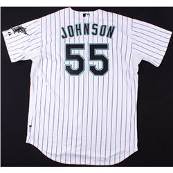 Josh Johnson 2009 Game-Used Marlins Jersey (MLB Authentication)