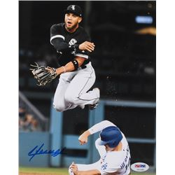 Yoan Moncada Signed White Sox 8x10 Photo (PSA COA)