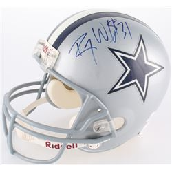 Roy Williams Signed Cowboys Full-Size Helmet (JSA COA)